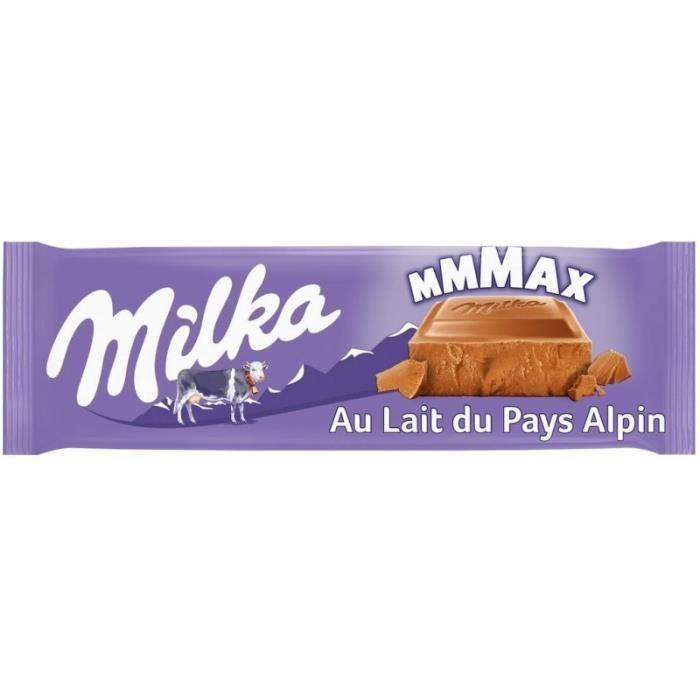 Milka MMMAX au Lait du Pays Alpin 300g (lot de 3)