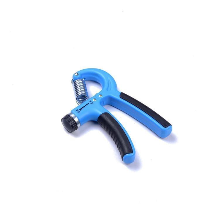 Paire Pince Exercice Force Poignee Musculation Main Appareil Grip Fitness10-40kg wrist hand Bleu
