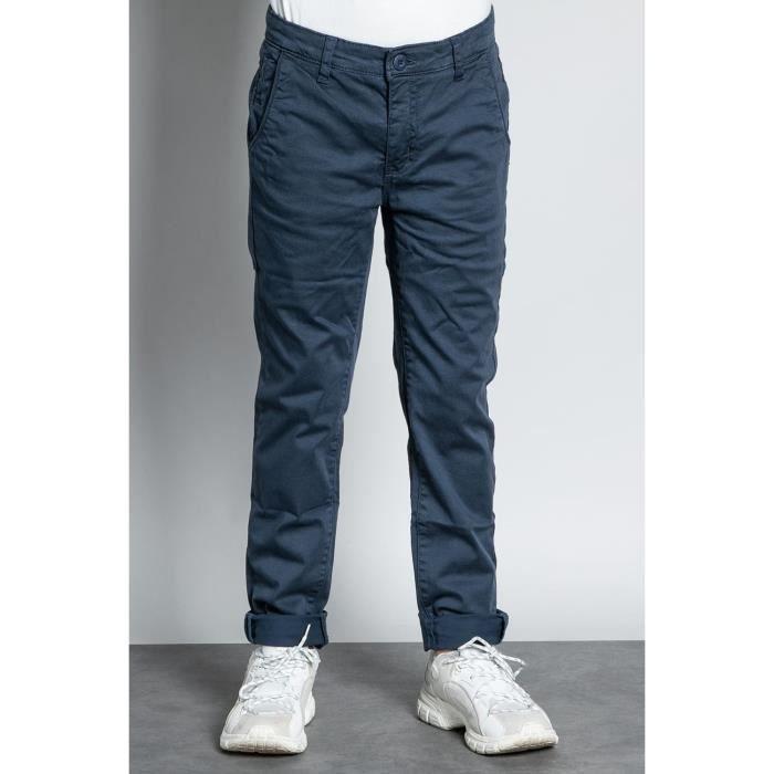 DEELUXE Pantalon chino slim MILANO Navy