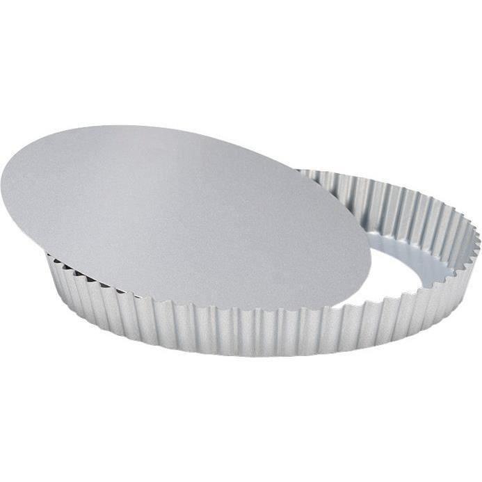 Moule à tarte fond amovible D : 28cm