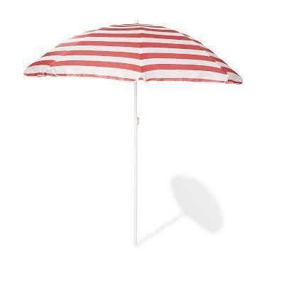 Parasol pour table picnic Nicki hexagonale