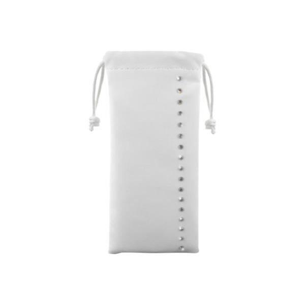 SWAROVSKI Etui Universel Smartphone 1 Bande Strass - Blanc