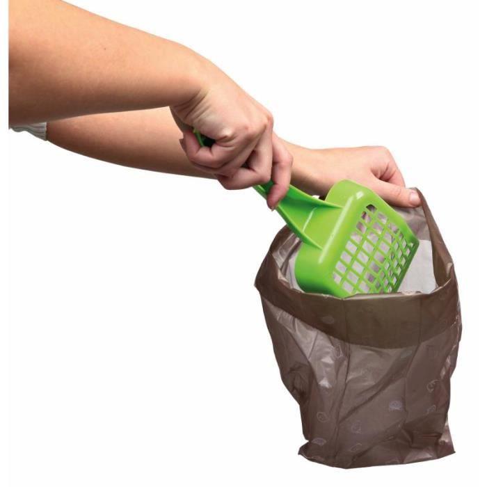 Sac à déchets pour chat biodégradable