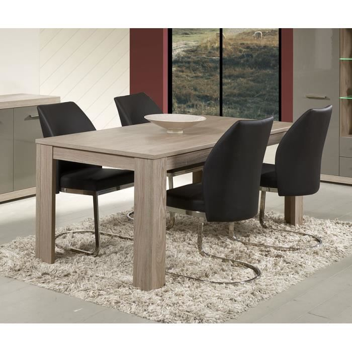 Table A Manger Couleur Chene Clair Moderne Solly Table 190 Cm