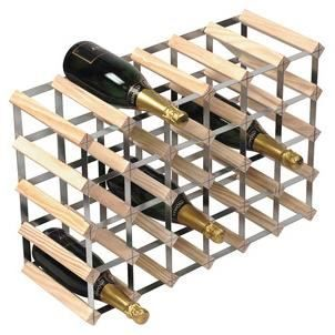 wine rack casier vin pour 30 bouteilles achat vente meuble range bouteille wine rack. Black Bedroom Furniture Sets. Home Design Ideas