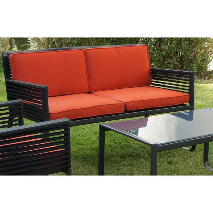 banc terrasse alu table de lit. Black Bedroom Furniture Sets. Home Design Ideas