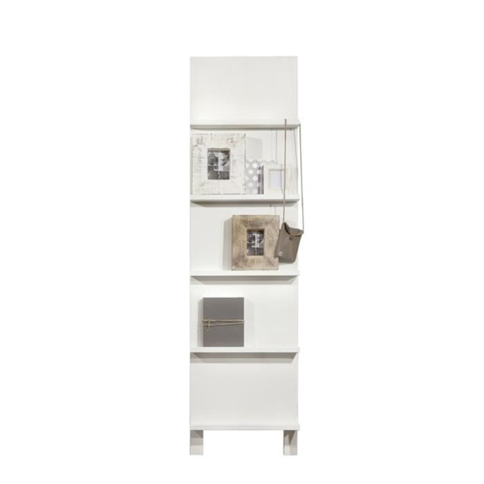 etag re porte revues bois henny couleur blanc achat vente etag re murale etag re porte. Black Bedroom Furniture Sets. Home Design Ideas