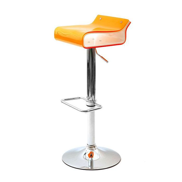 tabouret de bar orange maison design. Black Bedroom Furniture Sets. Home Design Ideas