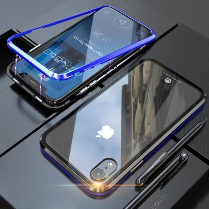 coque a absorption magnetique iphone xr