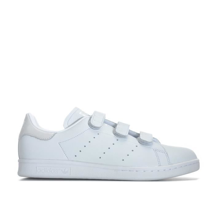look out for competitive price recognized brands Baskets adidas Originals Stan Smith CF pour homme en blanc. Blanc ...