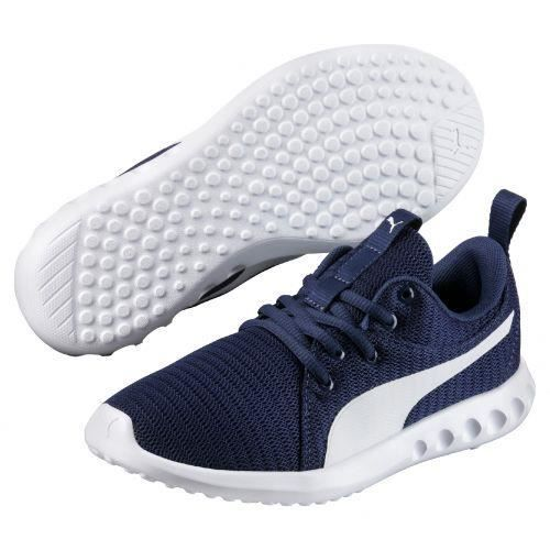 PUMA - Baskets basses Carson Runner Junior - (Marine - 38)