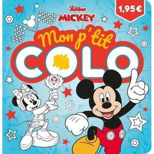 SAC À MAIN Mon p'tit colo Mickey top depart