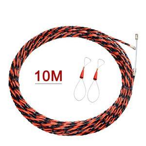Rouge-Blanc AUPROTEC C/âble unipolaire 4,0 mm/² FLRY-B Fil /Électrique en Anneau 10m