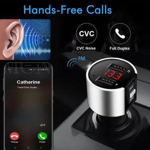 LECTEUR MP3 Bluetooth allume-cigare MP3 FM transmetteur sans f