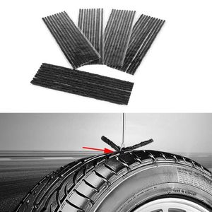 RÉPARATION PNEU Fihero 50pcs Bande de réparation de pneu tubeless