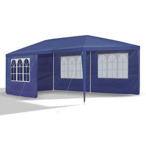 TONNELLE - BARNUM 127146 ; Tonnelle , Barnum en 3 x 6m bleu