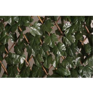 CLÔTURE - GRILLAGE Treillis osier extensible à feuilles Catral L1...