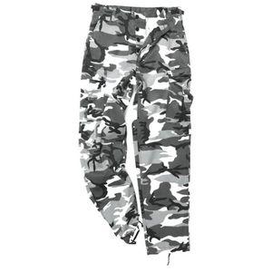 Mil-Tec Homme BDU US Pantalon Ranger Militaire Russe Digital Camo S–XXL