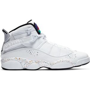 140d972b0ae CHAUSSURES BASKET-BALL Chaussure de Basket Jordan 6 Rings White Speckles