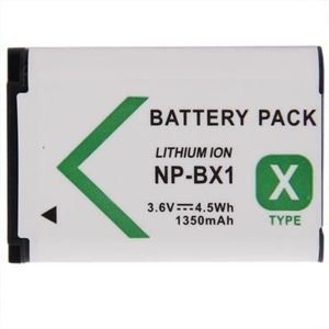 BATTERIE APPAREIL PHOTO Batterie pour appareil photo numérique Sony 3.6V,