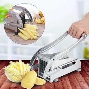 DECOUPE FRUIT 2pcs Coupe-frites trancheuse pommes de terre--Rose