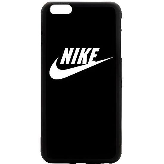 Coque iPhone 7 PLUS Nike Just Do it Logo Simple Noir et Blanc Etui Housse Bumper Protection Neuf sous Blister