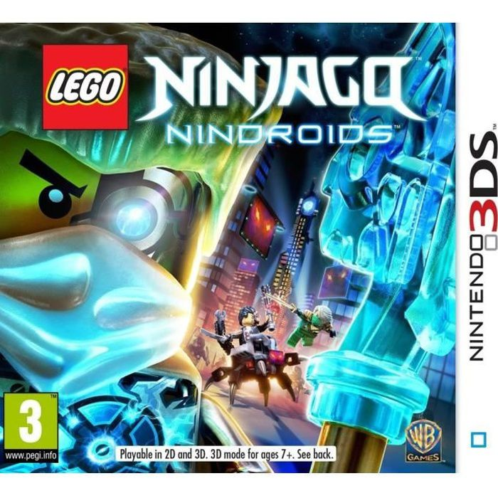 lego ninjago nindroids jeu 3ds achat vente jeu 3ds lego ninjago nindroids 3ds cdiscount. Black Bedroom Furniture Sets. Home Design Ideas