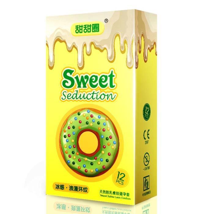 12PCS Pleasure Me - Condom pour hommes ultra-mince et très soluble dans l'eau YJJ200401384YE_BJT
