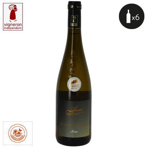 6 bouteilles - Vin blanc - Tranquille - Domaine Leblanc - Les Closserons Doux Coteaux du Layon Blanc 2019 6x75cl