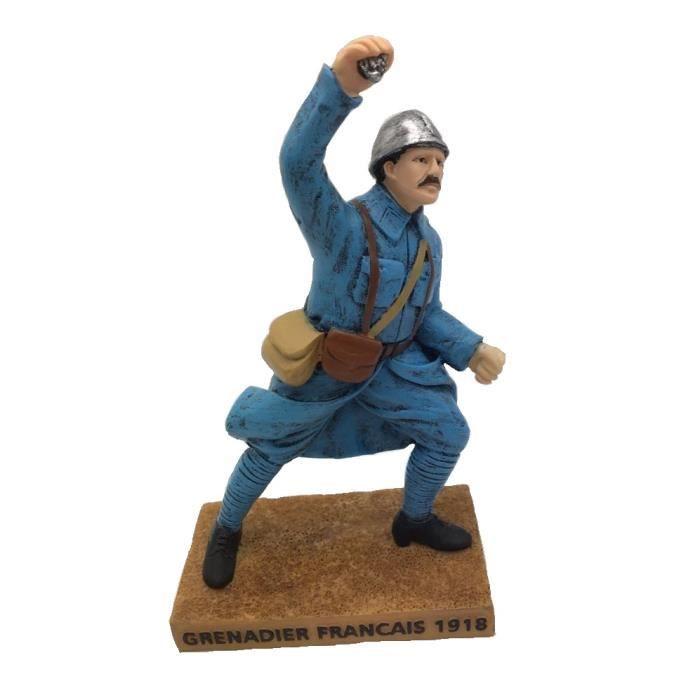 figurine grenadier français 1918 15cm