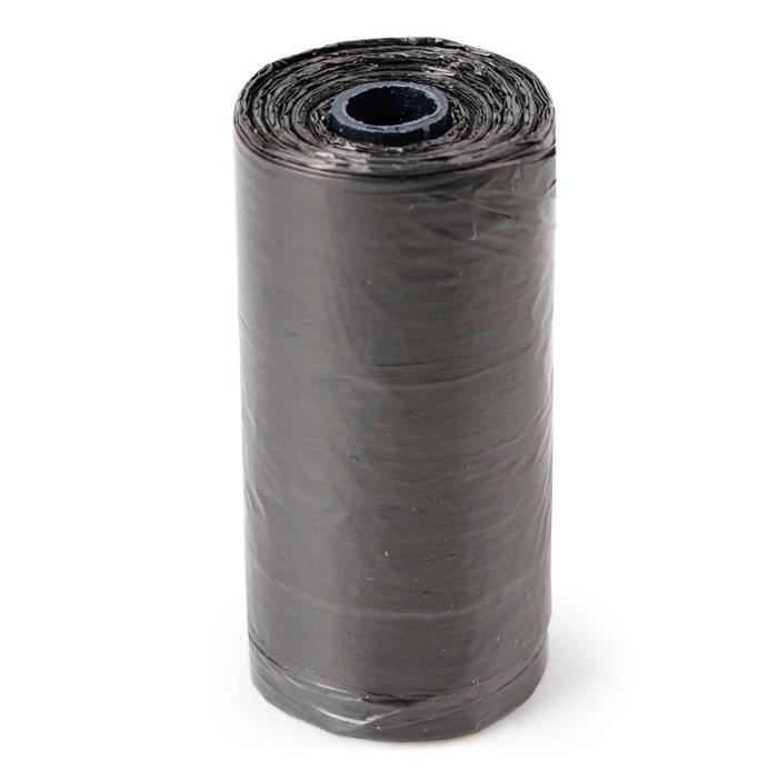 Sac de proprete excrements,100 rouleau 1500 pièces chien sac merde zéro déchets animaux de compagnie déchets - Type black-1500PCS