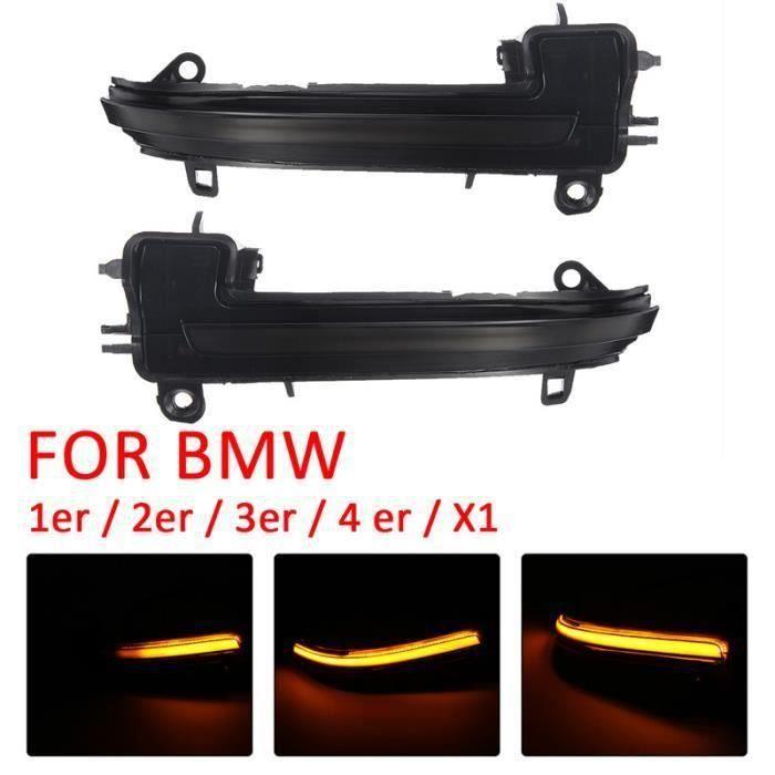 Lampe Clignotant Dynamique de Rétroviseurs Latéraux Pour BMW 1er 2er 3er 4er X1 Aw52075