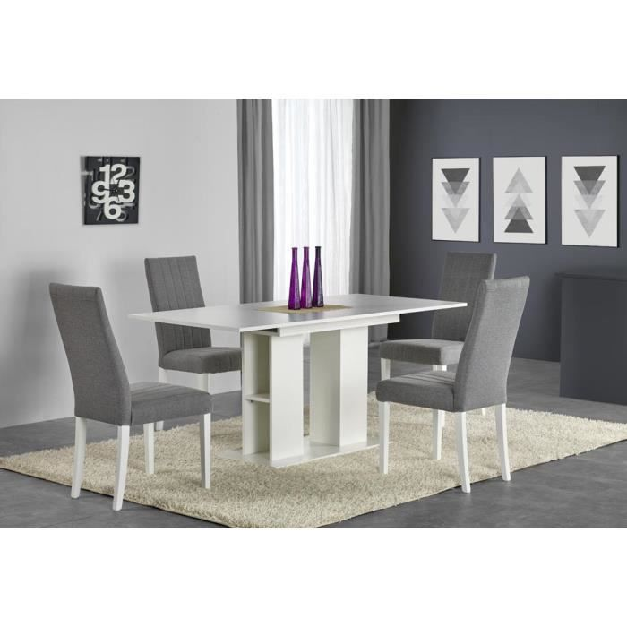 Table à manger extensible 130÷170 cm x 80 cm x 76 cm