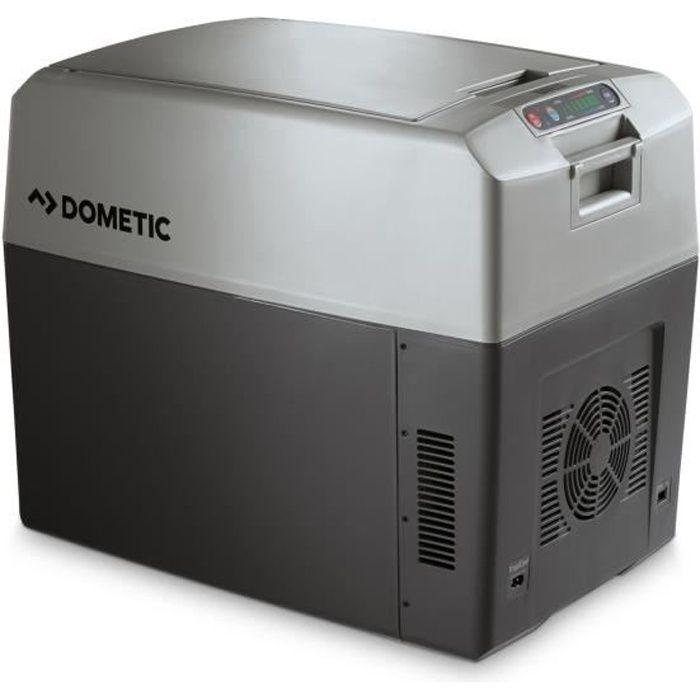 DOMETIC TC35FL Glacière électrique portable, 33L, 12-24V-230V, 30°C en dessous de la température ambiante, chauffage jusqu'à +65°