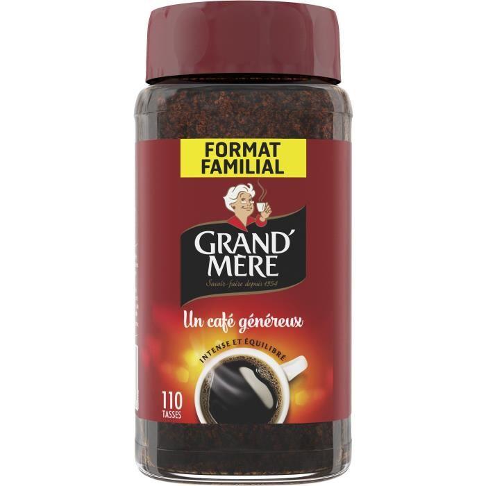 GRAND'MERE Café soluble Jar - 200 g