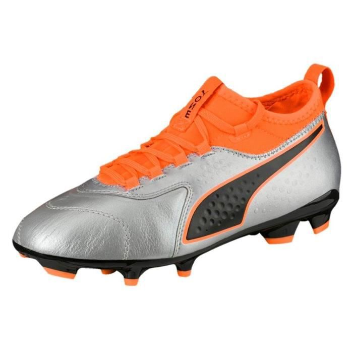Chaussures de foot Football junior Puma One 3 Leather Ag