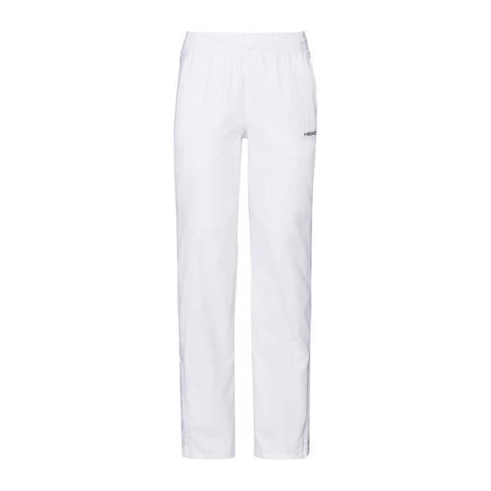 Head Club Femmes Pantalon tennis blanc