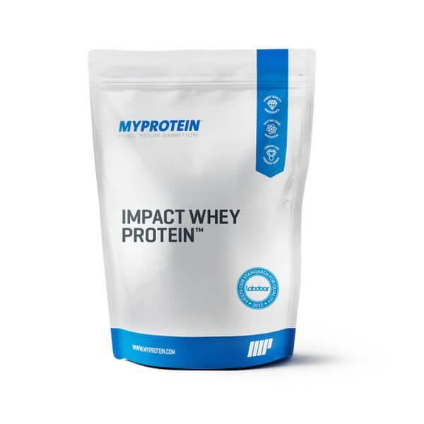 Impact Whey Protein - Apple Crumble and Custard 1KG - MyProtein
