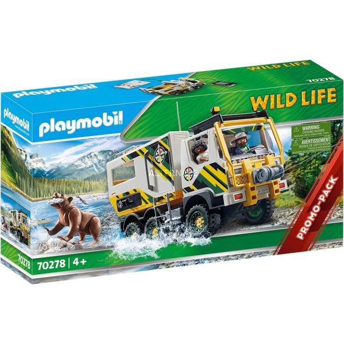 PLAYMOBIL Wild Life 70278 coffret de figurines, Jouets de construction