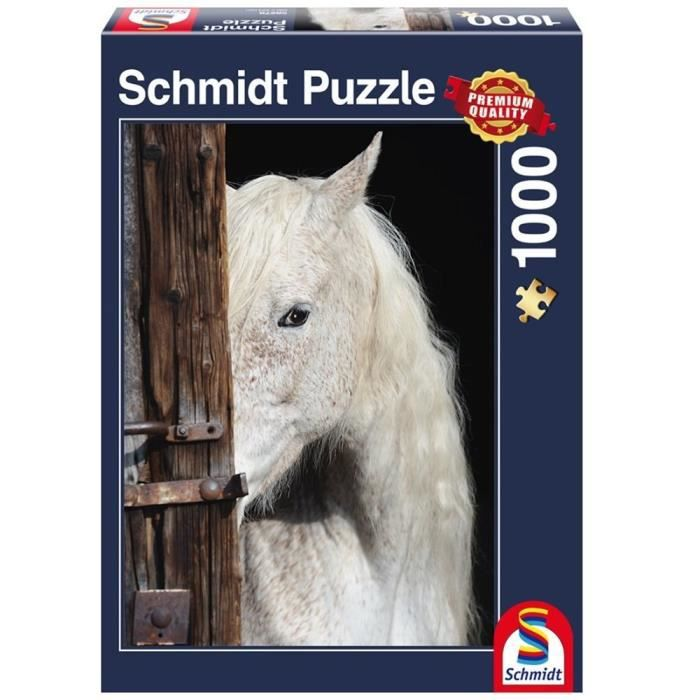 SCHMIDT and SPIELE Puzzle Adulte Beauté chevaline - 1000 pcs