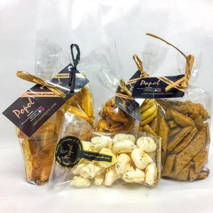 Smartbox - Panier gourmand de biscuits artisanaux livré à domicile - Coffret Cadeau -