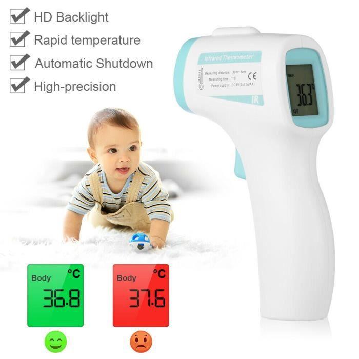 XCSOURCE Thermomètre Bébés, Thermomètre ir digital lcd laser température pistolet pour bébé et adult