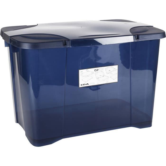 10 nouvelles caisses de rangement en plastique boîte conteneur 5L ROUGE