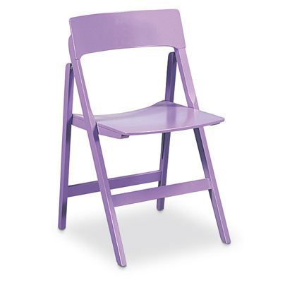 CHAISE Chaise Pliante Relax Couleur LILAS