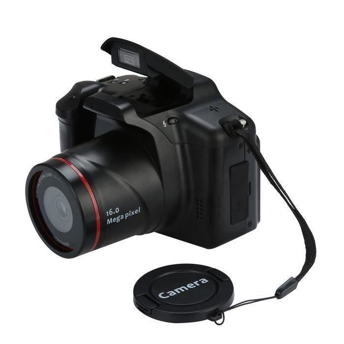 APPAREIL PHOTO RÉFLEX 16MP 1080P HD Appareil Photo Reflex USB Caméra Num