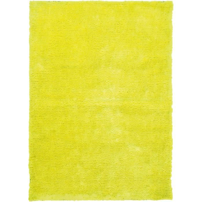 papilio tapis fluo jaune 70 cm rond achat vente. Black Bedroom Furniture Sets. Home Design Ideas