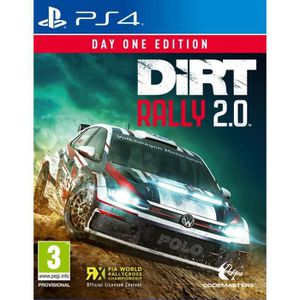 JEU PS4 Dirt Rally 2.0 Day One Édition Jeu PS4