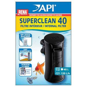 FILTRATION - POMPE API Filtre intérieur New Superclean 40 Rena - Pour