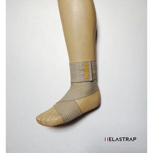 PROTÈGE-CHEVILLES Bande Bandage élastique à scratch réglable pour st