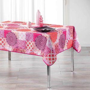 NAPPE DE TABLE Nappe Flamenco rose 150 x 240 cm